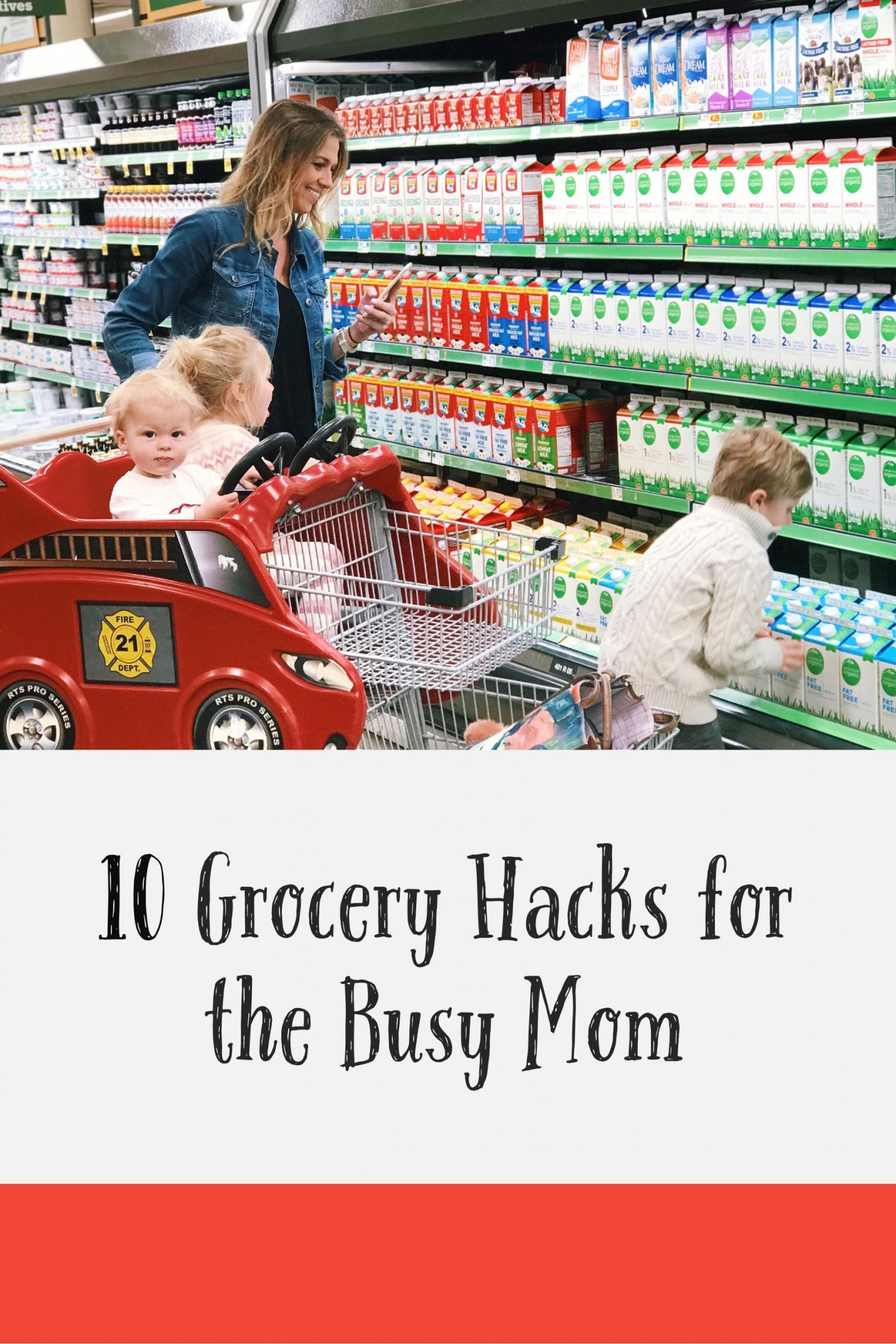 10 Grocery Hacks for the Busy Mom