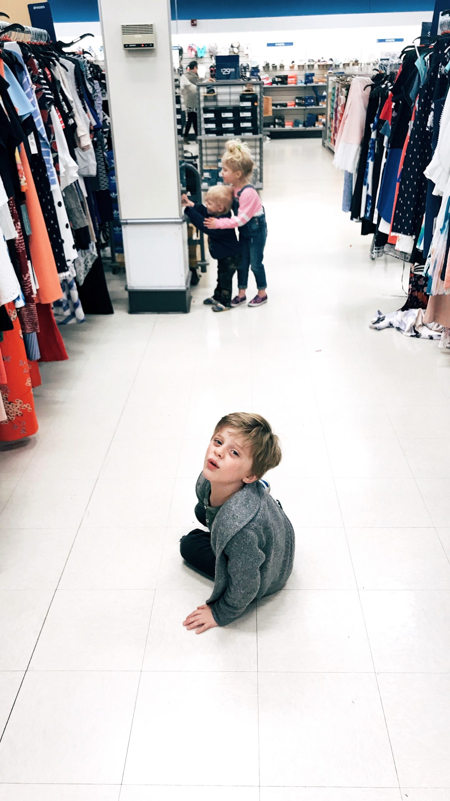Worst shopping trip to date: next time, pack the goldfish