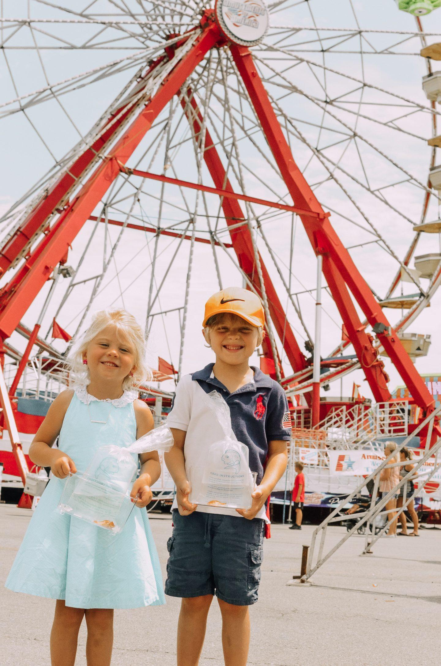 A Family Af {Fair} at the Ohio State Fair