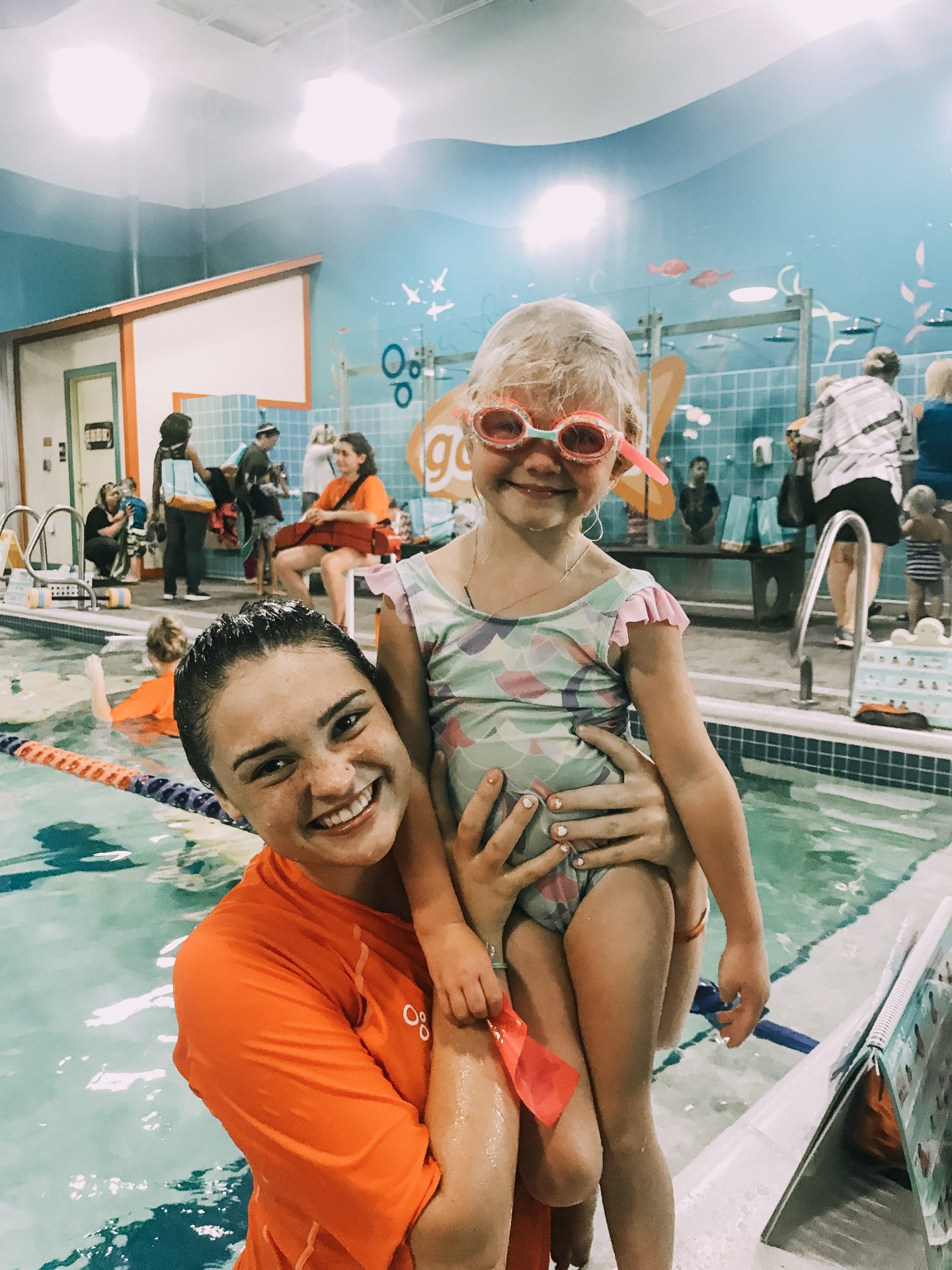 Important Drowning Information and Goldfish Swim School