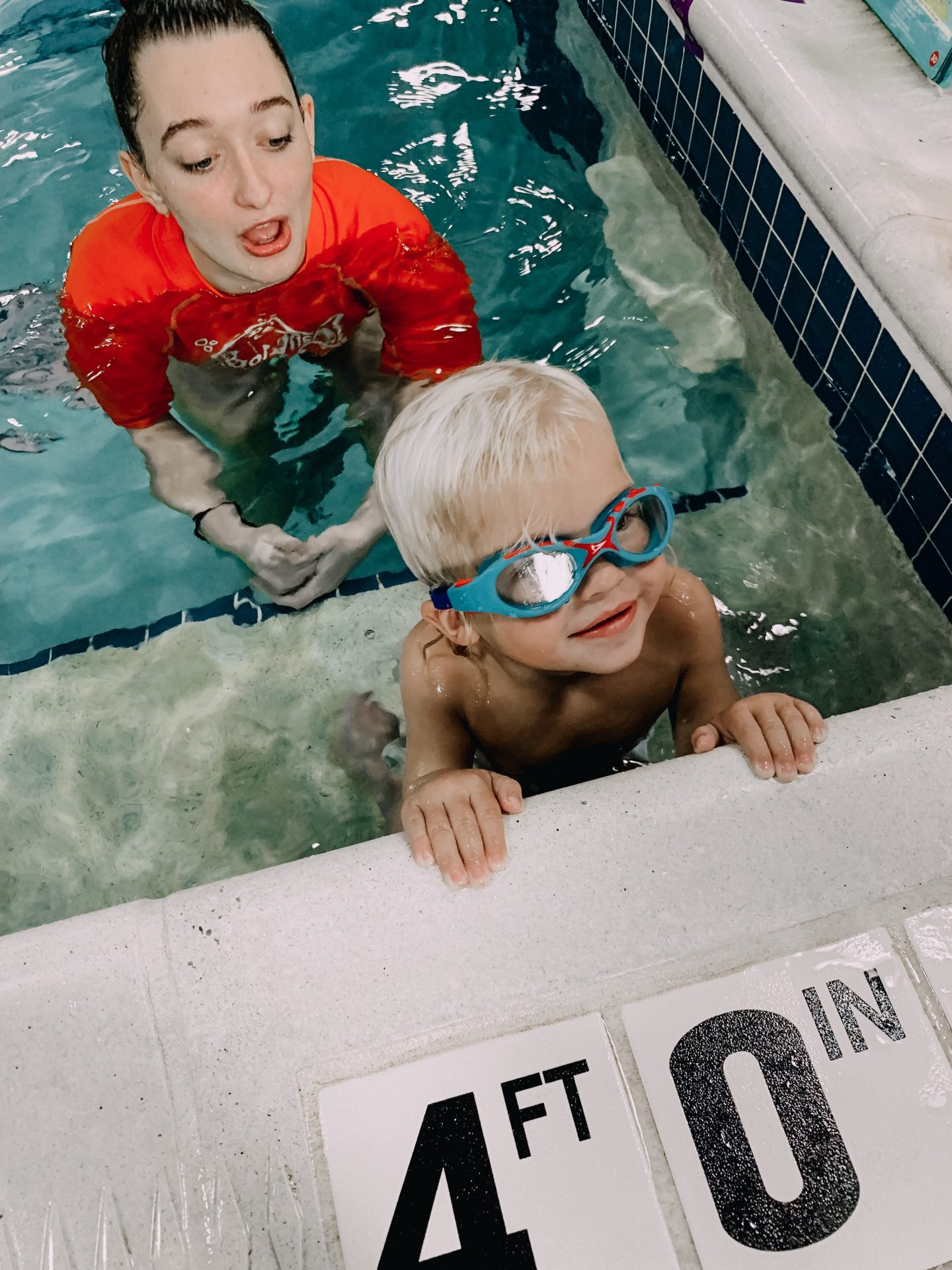 Adam at Goldfish Swim School