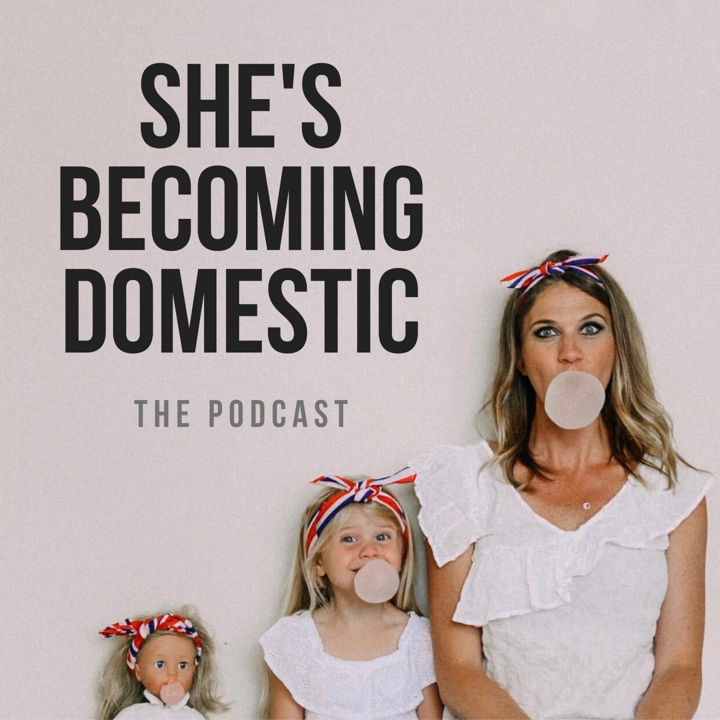 She's Becoming Domestic Podcast: The Power of Learning How to Swim!