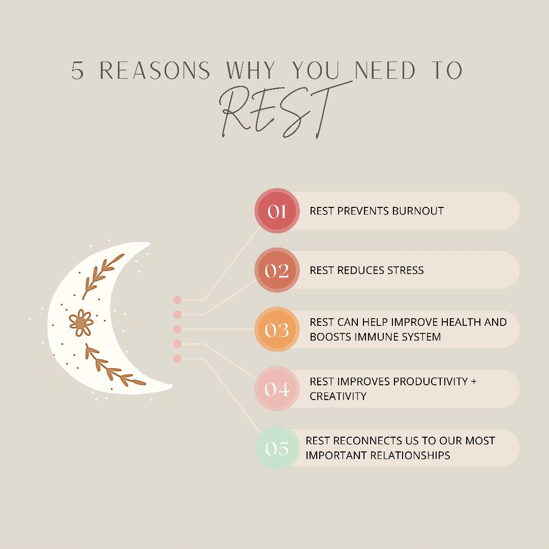 5 Benefits of Rest