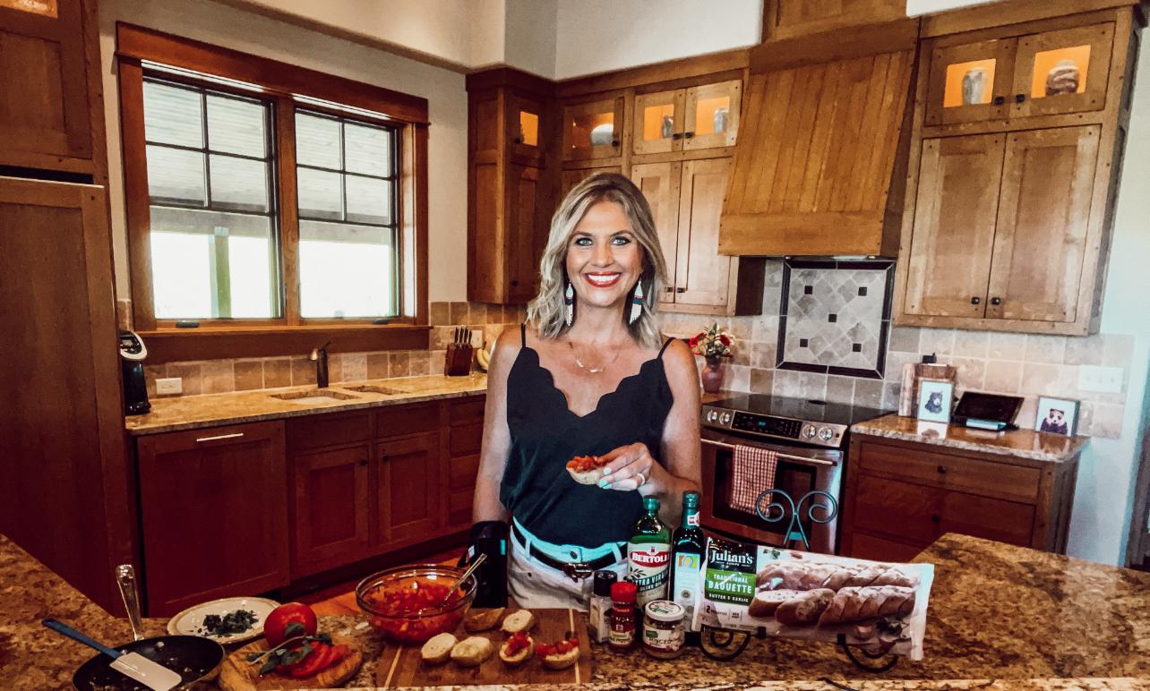 Easy Grilled Bruschetta Recipe